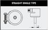 AOYUE [1124] Hot Air Nozzle - okrogla šoba za vroči zrak Ø 2.5mm