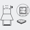 AOYUE [1139] Hot Air Nozzle PLCC 7.3x12.5mm šoba za vroč zrak