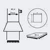 AOYUE [3030] Hot Air Nozzle BGA 29x29 šoba za spajkalno postajo na vroč zrak