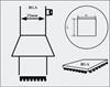 AOYUE [3232] Hot Air Nozzle BGA 31x31 šoba za spajkalno postajo na vroč zrak