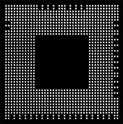 Aoyue PS3 CXD2964GB Reballing BGA šablona 0.60 mm