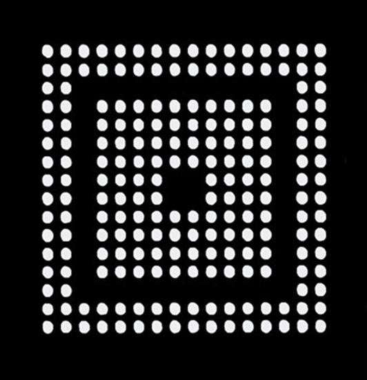 Aoyue PS3 CXR714120  Reballing BGA šablona 0.60 mm