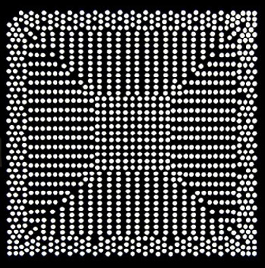 Aoyue QG82945 Reballing BGA šablona 0.50 mm