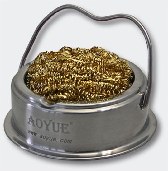 Aoyue TY-98 čistilec za spajkalne konice s kovinsko gobico