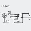 Aoyue WQ/LF-24D spajkalna konica  Ø2.4mm x 0.5mm - brezsvinčeno spajkanje