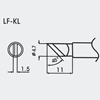 Aoyue WQ/LF-KL spajkalna konica 1.5mm 45°Ø4.7mm - brezsvinčeno spajkanje
