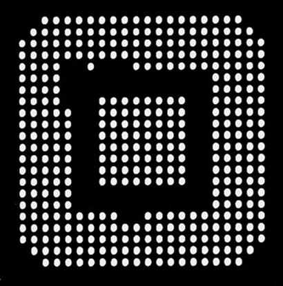 Aoyue XBOX360CSP Reballing BGA šablona 0.60 mm