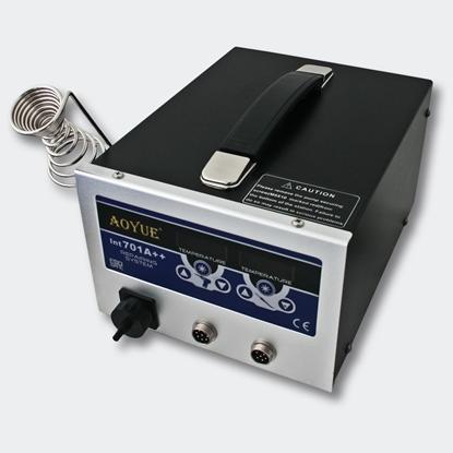 Aoyue Int701A++ kombinirana spajkalna postaja 3 v 1 SMD spajkanje / razspajkanje / odsesovalec dima