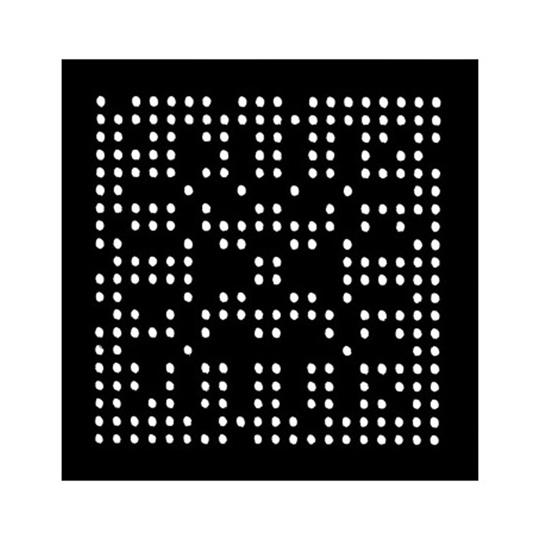 Aoyue WII CPU Reballing BGA šablona 0,6mm