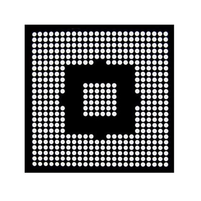 Aouye WII CPU Reballing BGA šablona 0.76mm
