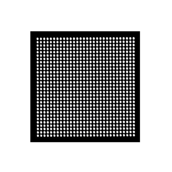 Aoyue WII GPU Reballing BGA šablona 0.60mm