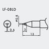 Aoyue WQ/LF-08LD Spajkalna konica Ø0.8mm x 0.6mm - brezsvinčeno spajkanje