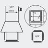 Picture of AOYUE [1215] Hot Air Nozzle QFP 42.5x42.5mm šoba za spajkalne postaje na vroč zrak