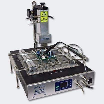 Picture of AOYUE Int732 Quartz (kvarčni) predgrelnik + infrardeči sistem za spajkanje igralnih konzol
