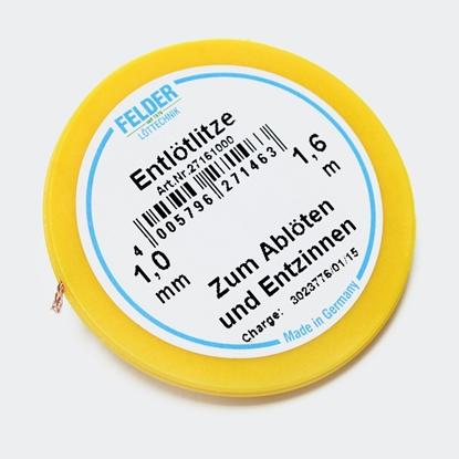 Felder razspajkalna žica flux-soaked 1,0mm 1,6m