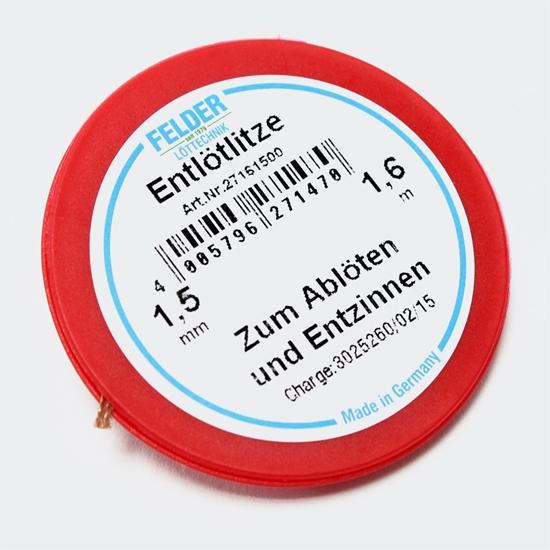 Felder razspajkalna žica flux-soaked 1,5mm 1,6m
