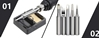Ročni spajkalnik 60W Vastar + Multimeter + set orodja in pripomočkov